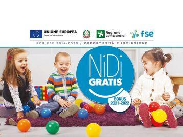 Avviso per l'adesione dei Comuni alla misura Nidi Gratis - Bonus 2021-2022