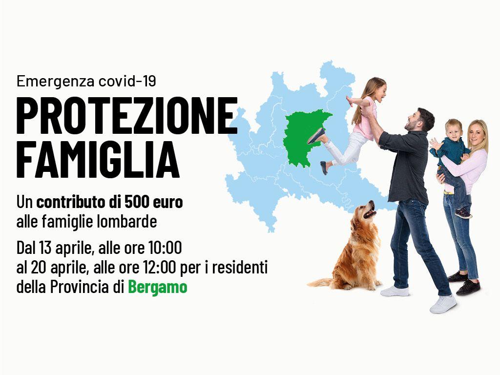 Protezione Famiglia Emergenza COVID 19 - Provincia di Bergamo