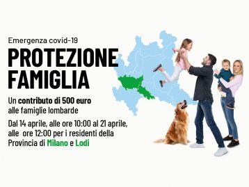 Protezione Famiglia Emergenza COVID 19 - Province  di Milano e Lodi
