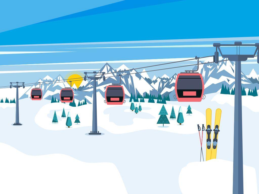 Bando 2019 - contributi alla gestione impianti di risalita e piste da sci innevate artificialmente.