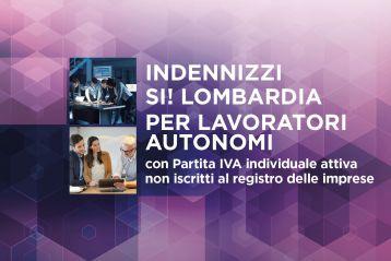 SI LOMBARDIA - Avviso 2 ter - Lavoratori autonomi - Finestra 2