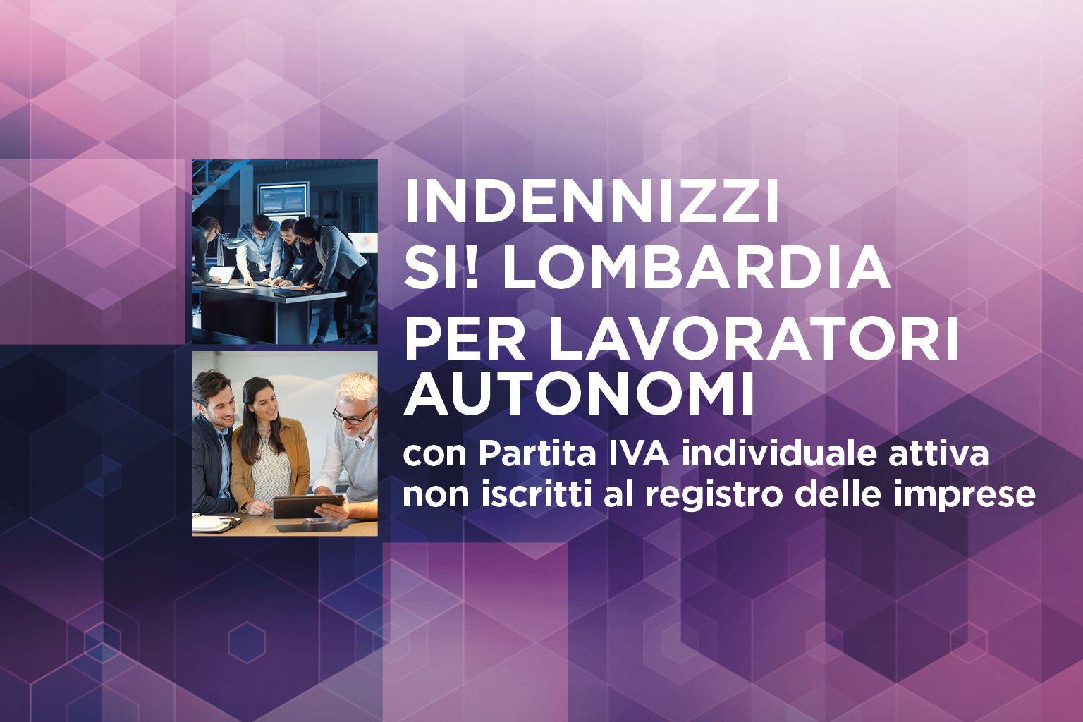 SI LOMBARDIA - Avviso 2 ter - Lavoratori autonomi - Finestra 1
